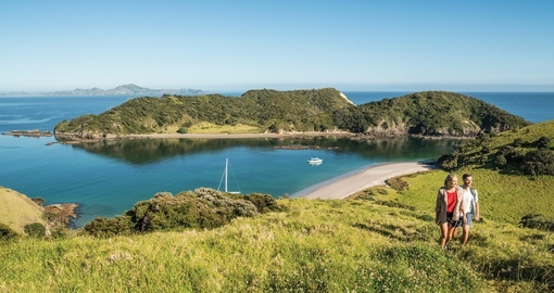 enjoy the beautiful Bay of Islands on your New Zealand vacation