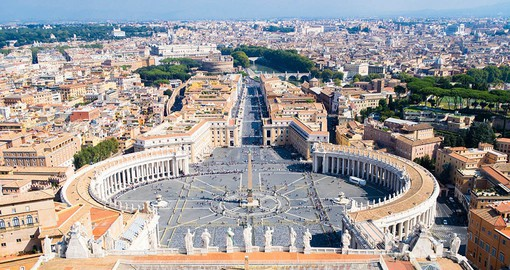 Visit one of the biggest religious sites in the Catholic faith on your Tour of Italy