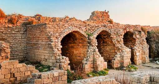 Explore the ruins of Ashdod on your Israel Tour