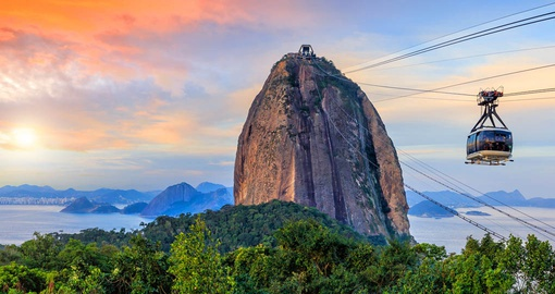 Sugarloaf Mountain in Rio de Janiero