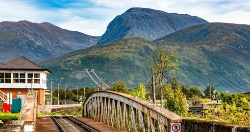 Banavie is a pleasant village near the Caledonian Canal and Ben Nevis