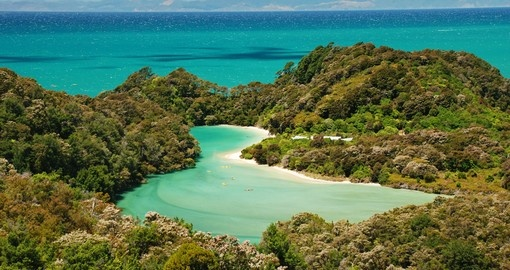Explore Abel Tasman National Park during your next trip to New Zealand.