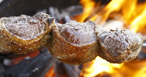 Churrasco is the term for a barbecue