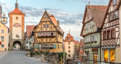 Rothenburg ob der Tauber, Franconia, Bavaria, Germany