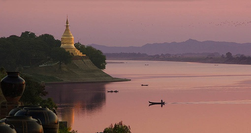 Enjoy cruising the Irrawaddy on your Myanmar Tour