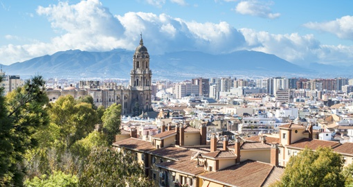 Visit sunny Malaga on your trip to Spain