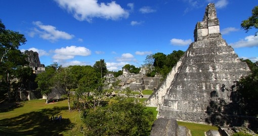 The legendary Mayan ruins at Tikal National Park are a must inclusion on your Guatemala tour