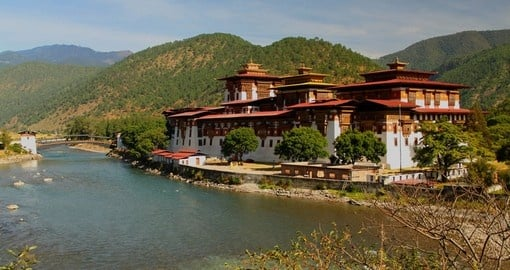 Punakha Dzong (Palace of Great Happiness)