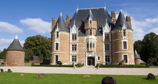 Chateau de Martainville, holds fifteen thousand artifacts of Norman history. Image courtesy of Gregory Gerault