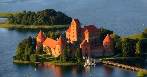 Visit Trakai Castle on your Lithuania Vacation