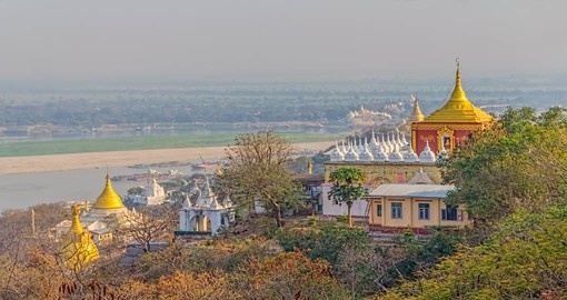 Visit Sagaing Hill and discover beautiful sites of Myanmar.