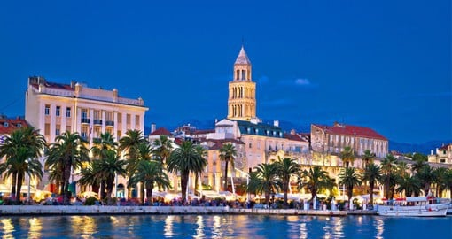 At the centre of the Dalmatian region, Split is Croatia's second largest city