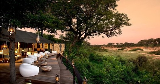 Beautiful scenery awaits you on this South Africa trip to &Beyond Ngala Tented Camp.