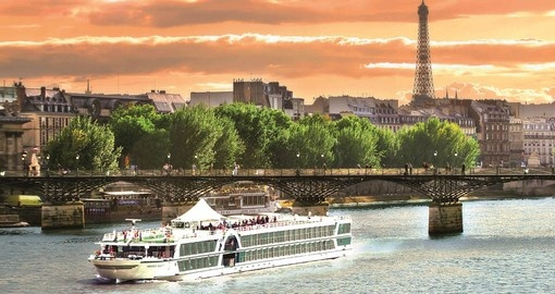 The MS Amadeus Diamond will be your vessel for your cruise of the River Seine starting in Paris