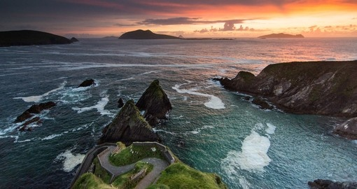 Dusk at Dingle Peninsula