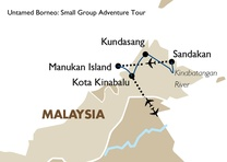 Untamed Borneo: Small Group Adventure Tour