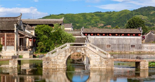 The ancient village of Chengkan is hailed as the 'Town of China's Old Buildings'