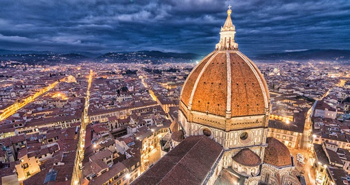 The Duomo overlooking Florence