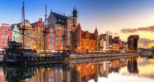 Gdansk has been shaped by centuries of maritime trade