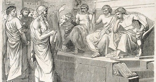 Sophocles accused by his sons