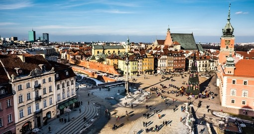 Castle Square with Kings Sigismund's Column in Warsaw