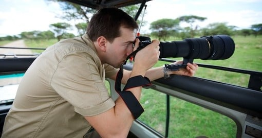 Take magical and one of a kind photos on your next Tanzania safari.