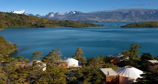 Beautiful views of the camp, Toro Lake and Paine Massif await you on this Chile vacation package.