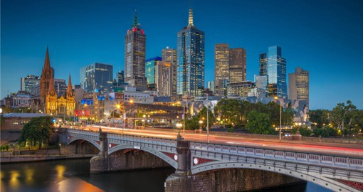 Dynamic and cosmopolitan, Melbourne is Australia's sporting and cultural capital