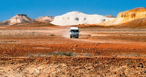 Take the The Desert Cave Half Day Tour from Coober Pedy as part of your Australia Vacation