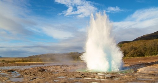 See the Geysir on your trip to Iceland