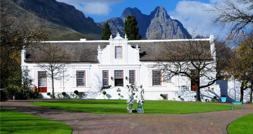 Spend a day of your South African vacation exploring the Cape Winelands