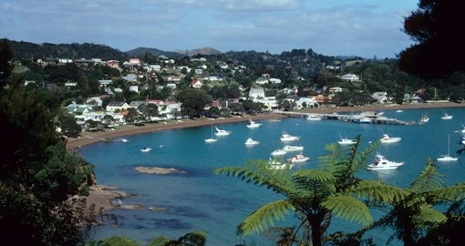 The seaside town of Russell is one of the most popular destinations and a great inclusion on any New Zealand vacation.