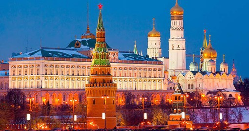 Discover Kremlin and Armoury in Moscow during your next Russia vacations.