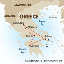 Classical Greece Tour with Meteora
