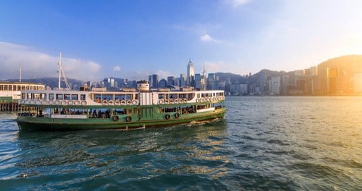 National Geographic rated a crossing of Victoria Harbour on the Star Ferry as one of the fifty places of a lifetime