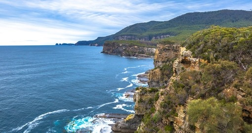 Enjoy the coastal and hillside views of the Tasmania Peninsula on your next Australia Vacations