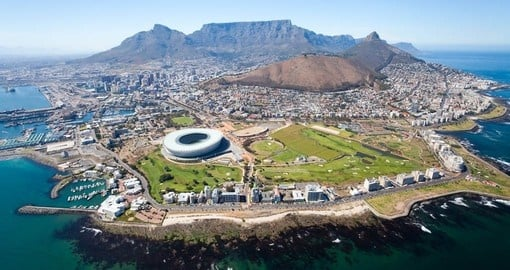 Cape Town - Africa's most beautiful city is a must inclusion when booking one of our South African tours.