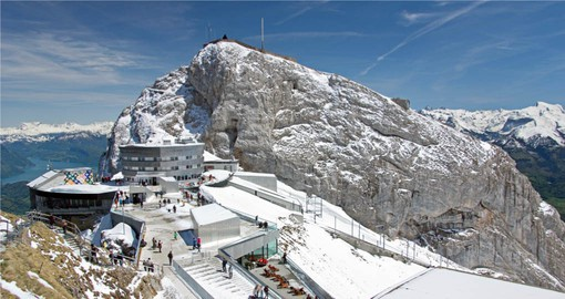 Pilatus, one of the most legendary places in Central Switzerland, offers a panoramic view of 73 Alpine peaks