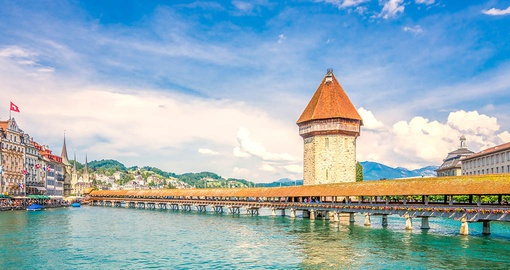 Stroll through Lucerne on your Switzerland tour
