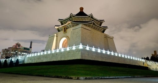 Chiang Kai-shek Memorial Hall is a must inclusion for all Taiwan vacations.