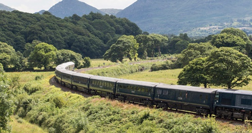 Make a rail tour aboard the Belmond Grand Hiberian part of your Ireland vacation