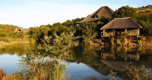Experience all the amenities of this gorgeous Shamwari Bayethe Tented Lodge on your next South Africa vacations.