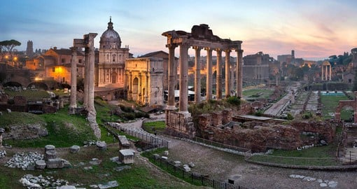 Despite it's relatively small space, the Forum was the heart of Imperial Rome