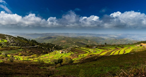Enjoy the view from the Monchique Mountain Range on your Portugal tour