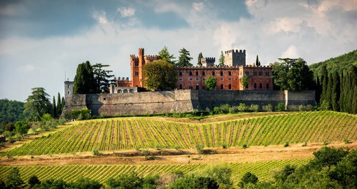 Castello di Brolio in Chianti has been producing wine since 1141