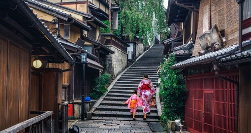 Old Japan comes to life in Kyoto with traditional temples, gardens and teahouses