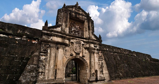 Explore the skillfully crafted Fort Santiago, a major historic site in the region that can be included in one of your Philippines Vacation Packages