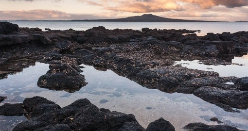 Located just offshore from Auckland, Rangitoto Island is easy to include on your New Zealand Vacation