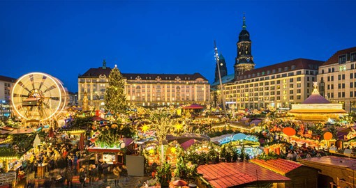 The Christmas Market in Dresden