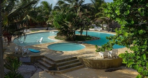 Enjoy all the amenities of The Portofino Resort on your next Belize vacations.